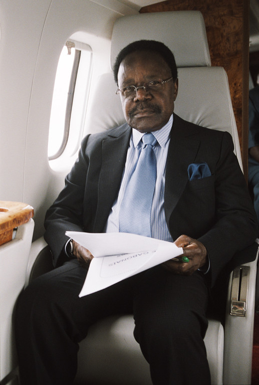 erickbonnier-pictures - close-up Omar Bongo in Libreville